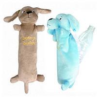 КАРЛИ-ФЛАМИНГО БАДДИ ХАРРИ игрушка для собак, мягкая игрушка для пластиковой бутылки,  10х10х28 см