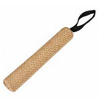 КАРЛИ-ФЛАМИНГО игрушка для собак апорт с ручкой, сизаль, 26х4,4 см