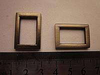 Рамка литая 20 мм шлифованный антик