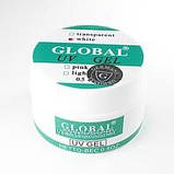 Гель Global 15 мл белый, фото 2