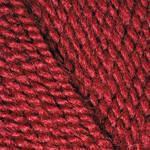 Yarnart Super Perle - 43 темно красный