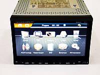 "Автомагнитола  Pioneer PI-803 7"" экран Навигация-Mp3-Dvd-Tv+камера+антена"