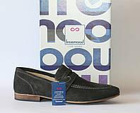 Мужские туфли лоферы Freemood оригинал натуральная замша 41