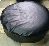 Чехол запасного колеса R17-18 Autoelement черный кожзам