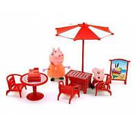 """Набор мебели """"Свинка Пеппа на отдыхе"""" (8866)"""