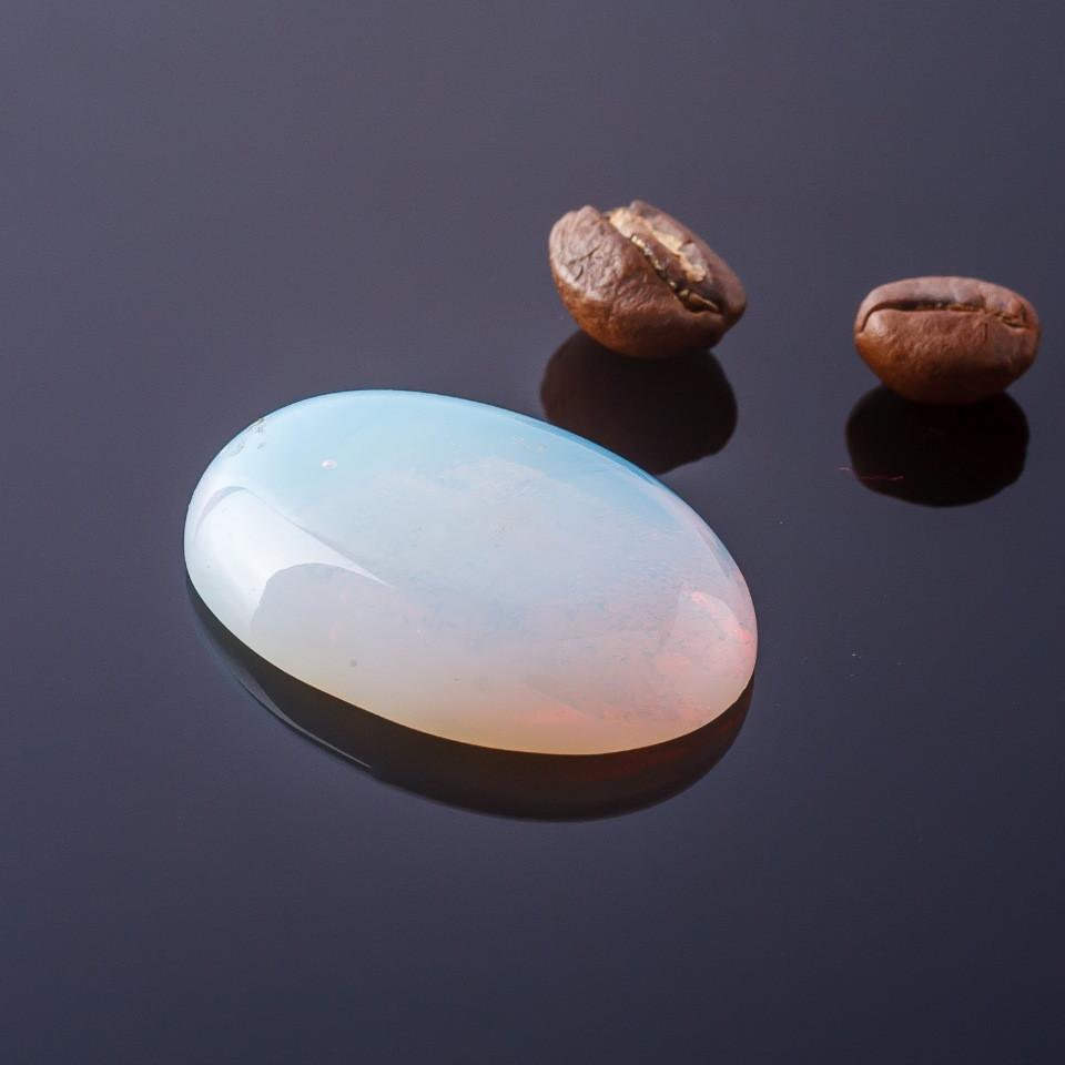 Кабошон Лунный камень  овал  d-30х22мм - ☆SOUVENIRS☆ - интернет магазин бижутерии, фурнитуры и украшений в Одессе