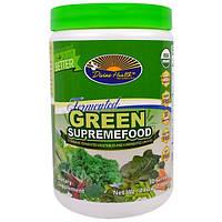 Divine Health, Ферментированный зеленый сверхпродукт, органическая ферментированная смесь из овощей и зелени, 7,40 унции (210 г)