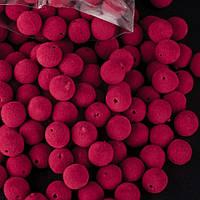 "Бусина ""Красная рябина"" d-10 мм 0,5 кг \упаковка"