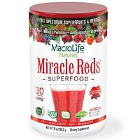 Macrolife Naturals, Прекрасные красные, Суперпища на основе сердечных антиоксидантов, Пищевая добавка, 10 унций (283,5 г)