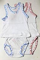 Комплект детского белья Майка+ трусики (уп 12 шт ) норма