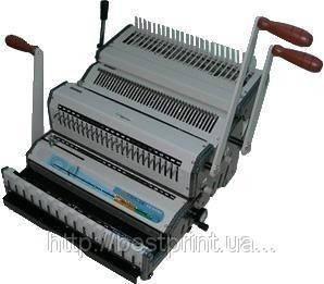 Биндер WireMac +Combo. (3:1 и Пластик) на пласт. пружину