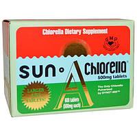 Sun Chlorella, Sun Chlorella A, 200 мг, 600 таблеток