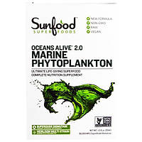 Sunfood, Морской фитопланктон Живой океан, 1 жидкая унция (29.5 мл)