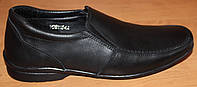 Подростковые туфли кожаные для мальчика, кожаная подростковая обувь от производителя модель ВИ857р