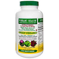 Vibrant Health, Пробиотик Зеленая жизненная сила, версия 11.0, 240 растительных капсул