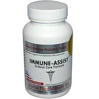 Aloha Medicinals Inc., Immune-Assist, формула для критического ухода, 500 мг, 84 капсул