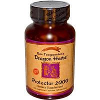 Dragon Herbs, Протектор 2000, 500 мг, 100 капсул