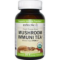 Eclectic Institute, Чай для укрепления иммунитета с грибами, порошок из цельных пищевых продуктов, 2,5 унции (72 г)