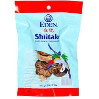Eden Foods, Цельные грибы шиитаке, 0,88 унции (25 г)