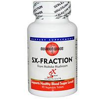Grifron Maitake, Mushroom Wisdom, SX-фракция, 90 растительных таблеток