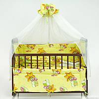 """Комплект постельного белья для новорожденного """"Звезда"""""""