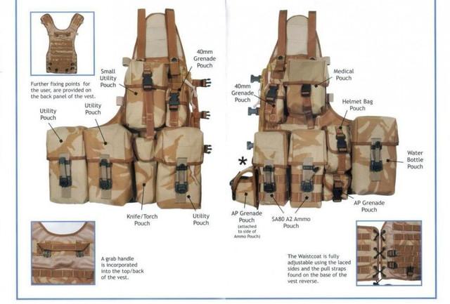 Разгрузочный жилет VTLC (Vest Tactical Load Carrying)