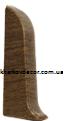 Заглушка левая - комплектующие для плинтуса ПВХ с кабель-каналом и мягким краем