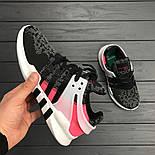 Кроссовки Аdidas EQT Grey/Pink. Живое фото. Топ качество! (Реплика ААА+), фото 2