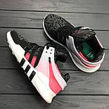 Кроссовки Аdidas EQT Grey/Pink. Живое фото. Топ качество! (Реплика ААА+), фото 3