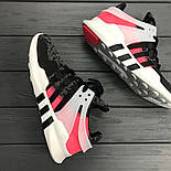 Кроссовки Аdidas EQT Grey/Pink. Живое фото. Топ качество! (Реплика ААА+), фото 4