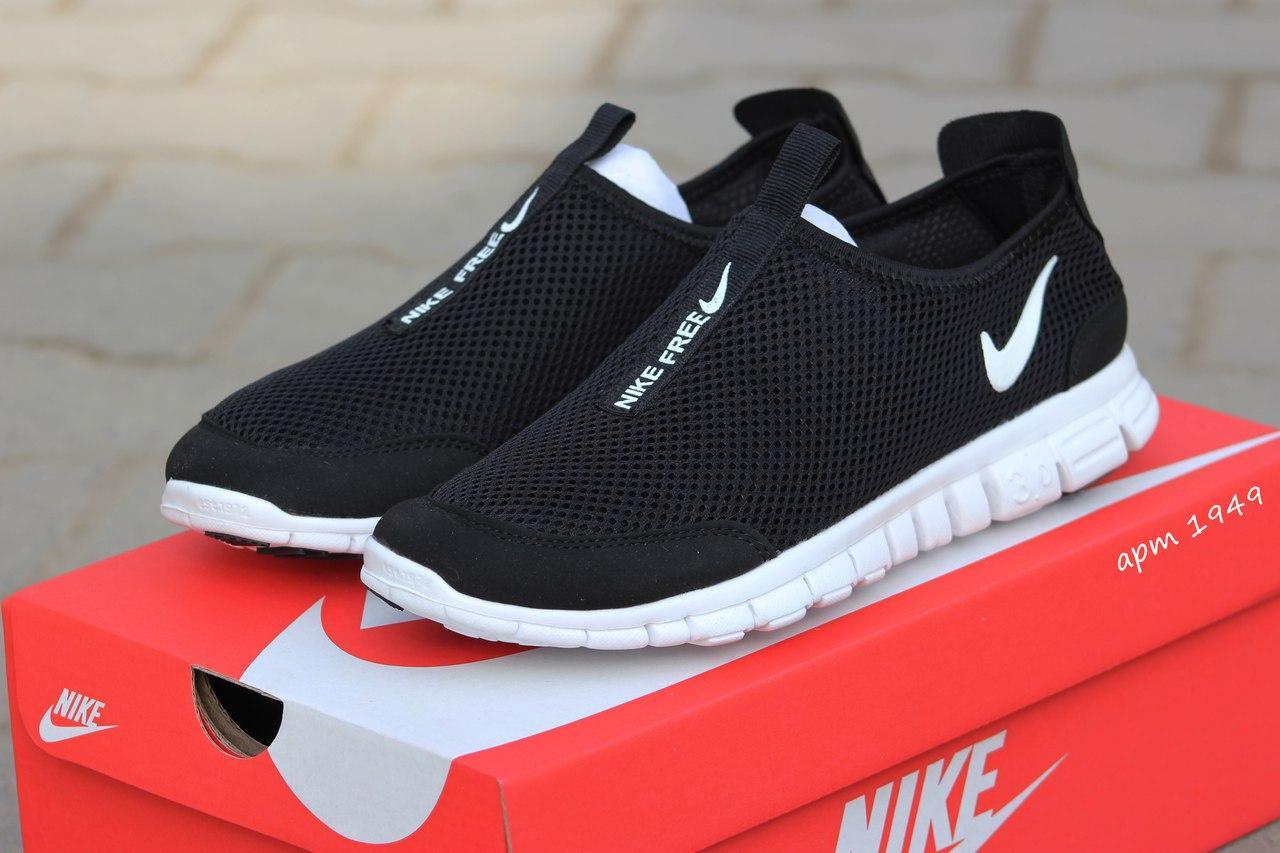 Мужские кроссовки летние Nike Free Run 3.0 сетка 40,41р