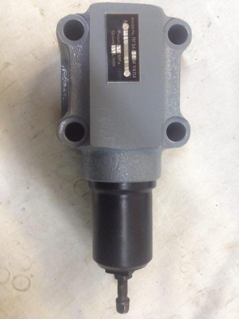 Клапан предохранительный давления стыковой ПГ54-34М, ПАГ54-34М, ПБГ54-34М, ПВГ54-34М, ПДГ54-34М