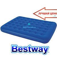 Матрас надувной Bestway 67374 203x152x22см (2 подушки)