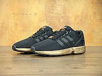 Кроссовки мужские Adidas ZX Flux 30419 золотисто-черные