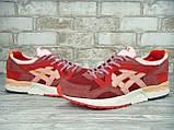 Кроссовки мужские Asics Gel Lyte V 30420 красные, фото 3