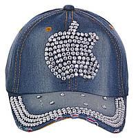 Джинсовая кепка Apple