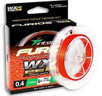 Плетеный шнур YGK Intech FURIOS PE WX4 150 м #0,4