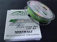 Плетеный шнур Braid Shiro Green 150 м №0,06 мм 3,2 кг