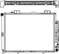 Радиатор охлаждения MERCEDES-BENZ E-CLASS W210
