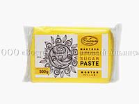 Мастика - сахарная паста для обтяжки Criamo - Жёлтая - 500 г