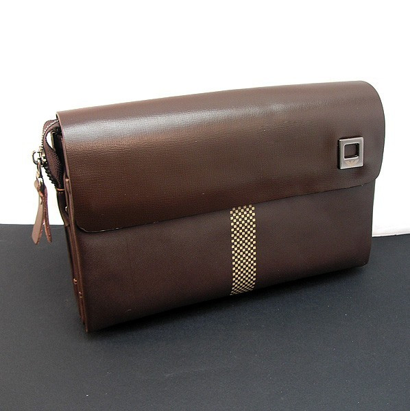 d0d99b7cd054 Клатч кожаный мужской коричневый Armani 171-2 - Интернет-магазин