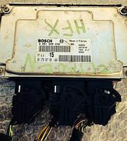 Блок управления двигателем CitroenSaxo 1.11996-2004 Bosch 0261206246, мотор HFX