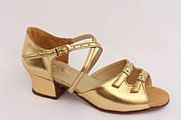 Детская танцевальная обувь 73110 (блок каблук)