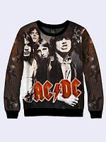 Свитшот Рок-группа AC/DC (Размер М)