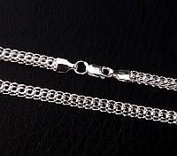 Цепочка черненая плетение кардинал серебро 925*