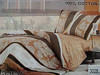 Сатиновое постельное белье полуторка ELWAY 3028