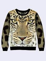Свитшот Морда леопарда (Размер L)