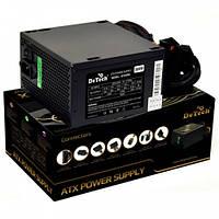 Блок питания DeTech 500W 12 см кулер, фото 1
