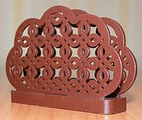 Салфетница, ДК-015, шоколадно-коричневый
