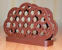 Салфетница, ДК-016, шоколадно-коричневый